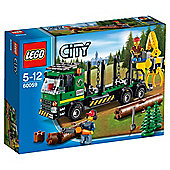 LEGO City Logging Truck 60059-Exclusive