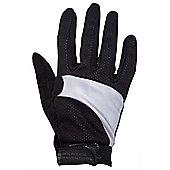 Adrenaline Womens Reflective Bike Gloves - Black