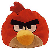 Angry bird cushion Red