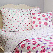 Bursting Blooms Single Children's Duvet Set