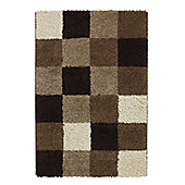 Oriental Carpets & Rugs Majesty Beige/Brown Rug - 170cm L x 120cm W
