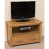 Oslo Solid Oak Small TV Unit