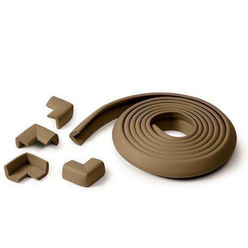 Prince Lionheart Table Edge Guard With 4 Corners Chocolate