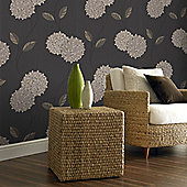 Superfresco Pippa Wallpaper - Charcoal