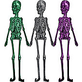Halloween Decorations Jointed Skeleton - 1.5m (each)