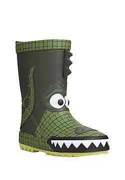 F&F Crocodile Wellies - Green