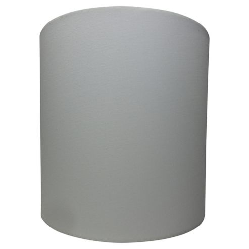 Tesco Lighting Drum Shade 22X22cm, Cream
