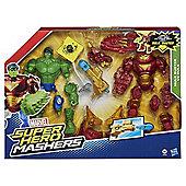 Avengers Super Hero Mashers Hulkbuster Vs Hulk Mash