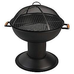 Tesco Charcoal Firepit BBQ