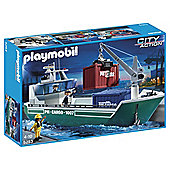 Playmobil City Action Cargo Ship 5253