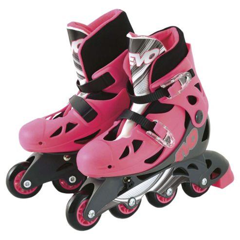 Evo Inline Skates, Pink
