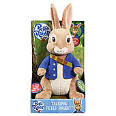 Peter Rabbit Talking Plush - Peter Rabbit