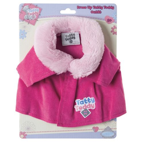 Tatty Teddy & My Blue Nose Friends Tatty Dress Up Pink Coat