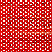Gift Wrap - Red Spots