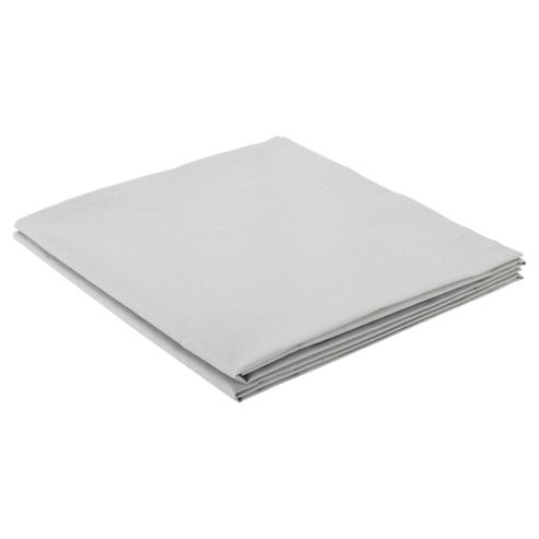 Tesco Twinpack Pillowcases- Light Steel