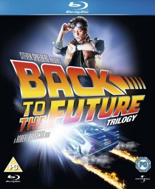 Back To The Future Trilogy  (Blu-Ray Boxset)