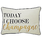 Champagne Cushion