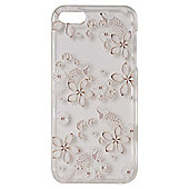 """Tortoiseâ""""¢ Soft Protective Case,iPhone 5/5S. Clear with Natural Bird 3D Print."""