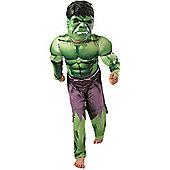 Rubies - Hulk Deluxe - Child Costume 5-6 years