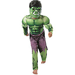 Rubies - Hulk Deluxe - Child Costume 5-6 years