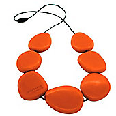 Jellystone Teething Necklace in Carrot