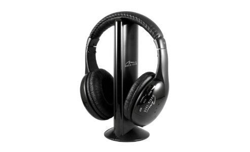 MEDIA-TECH Sirius Wireless Headphones With Radio FM MT3525