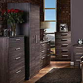 Welcome Furniture Contrast Plain Midi Wardrobe - Panga