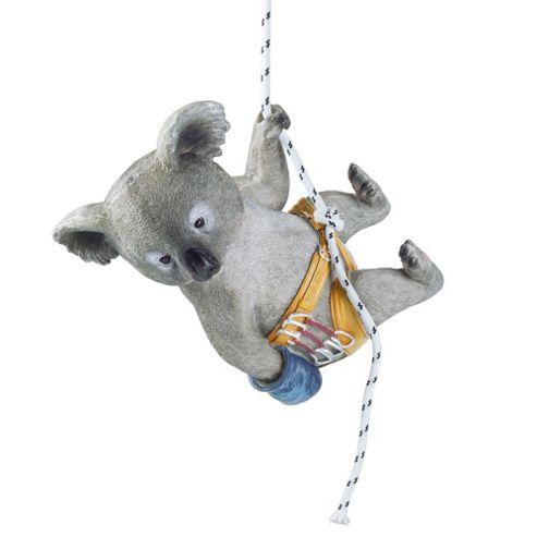 buy kai the rock climbing hanging koala garden ornament. Black Bedroom Furniture Sets. Home Design Ideas