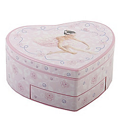 Girls Multi Compartment Ballet Jewellery Box