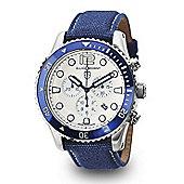 Elliot Brown Bloxworth Mens Fabric Chronograph Date Watch 929-008