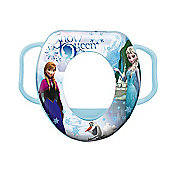 Disney Frozen Soft/Padded Toilet Seat (Blue)