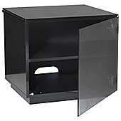 Barcelona High Gloss Black TV Stand