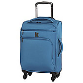 IT Luggage Megalite 4-Wheel Small Teal Suitcase