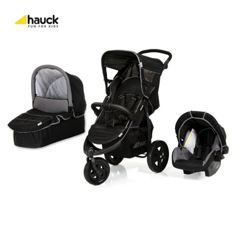 Hauck Viper Trio Travel System, Caviar/Grey