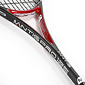 MANTIS Pro 125 Squash Racket Advanced Player with Cover 100% HM Carbon