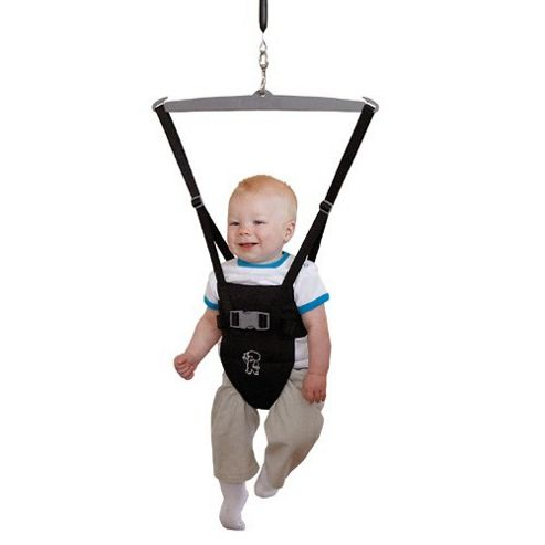 Tippitoes Doorway Bouncer (Black)