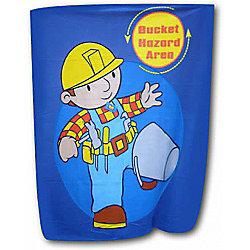 Bob the Builder Bucket Hazard Panel Fleece Blanket