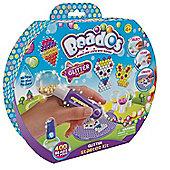 Beados Glitter Starter Kit, 400 Beads + 4 Pods
