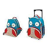 Skip Hop Zoo Luggage Case and Zoo Pack Owl