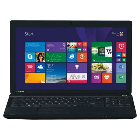 Toshiba Satellite C50D 15.6'' AMD A4, 8GB, 1TB, Black Laptop