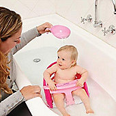 Dreambaby Deluxe Bath Seat Pink with Pink Scoop