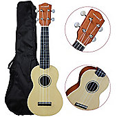 Rocket Traditional Soprano Ukulele - Solid Spruce Top