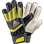 Adidas Predator Fingersave Junior Goalkeeper Gloves - Black
