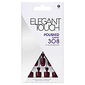 Elegant Touch Polished Nails Garnet 308