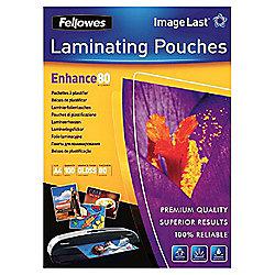 Fellowes Laminating Pouches 80 mic A4 100pk