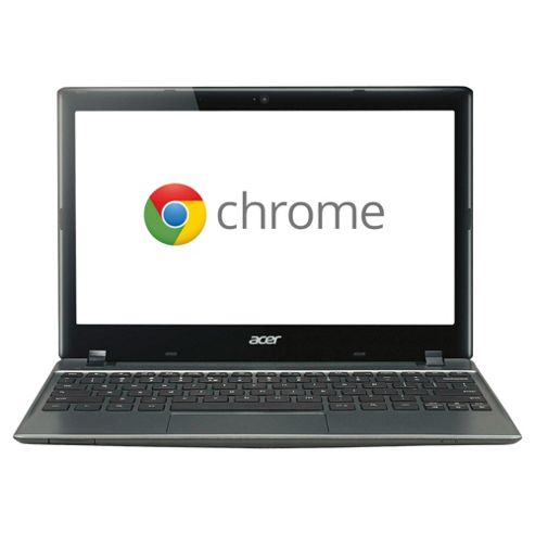 Acer C7 Chromebook, Cel847, 2GB, 320GB, 11inch. Grey