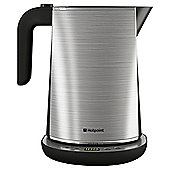 Hotpoint 1.7L Etronic Jug Kettle - Brushed Stainless Steel
