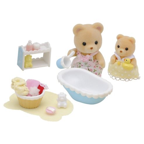 buy sylvanian families baby bath time from our all. Black Bedroom Furniture Sets. Home Design Ideas