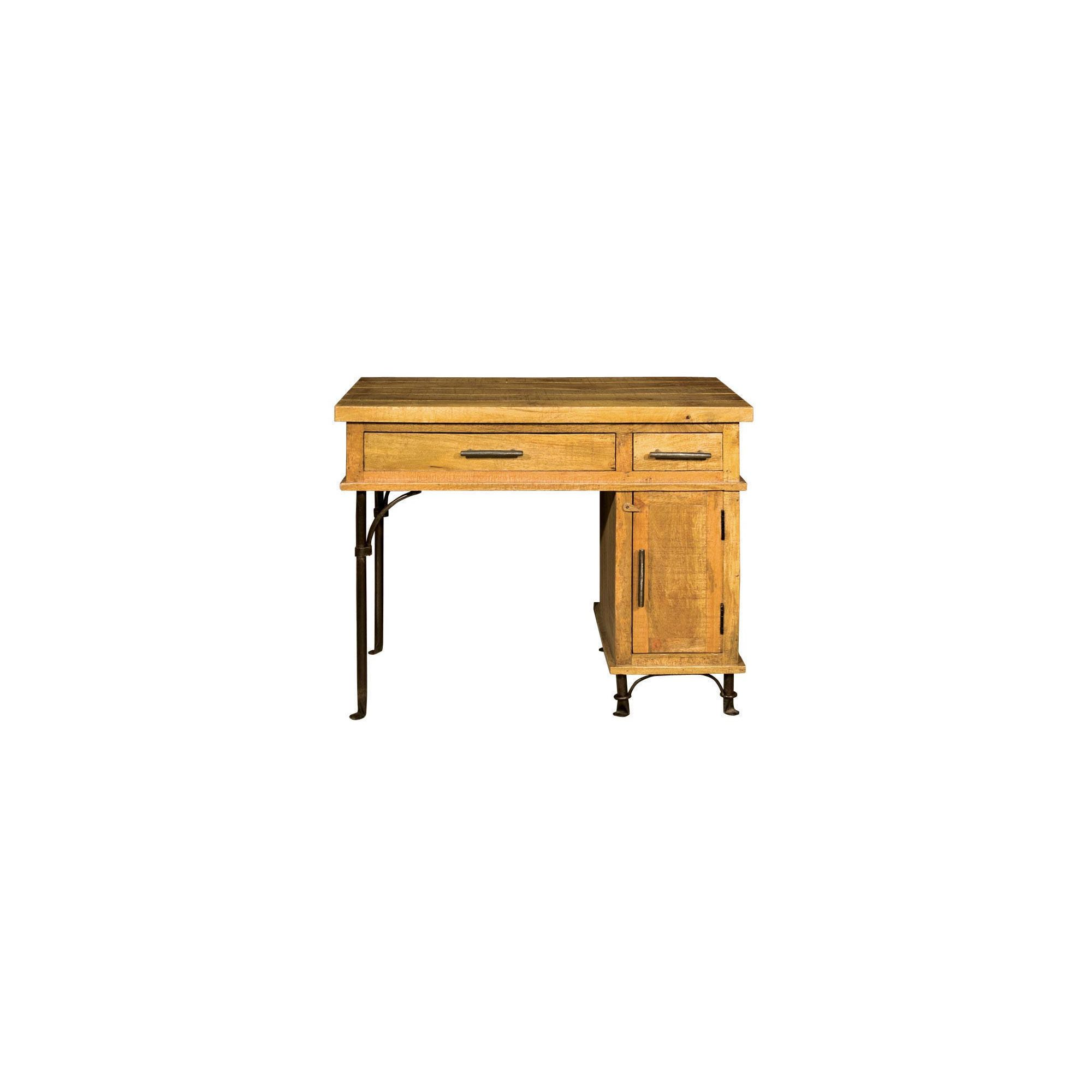 Alterton Furniture Rutland Forge Pedestal Desk at Tescos Direct