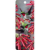 Cheatwell Games 3D Bookmark - Humming Birds